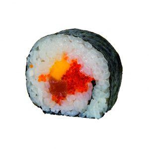 futomaki de atún y mango