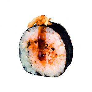 futomaki de salmon cocinado